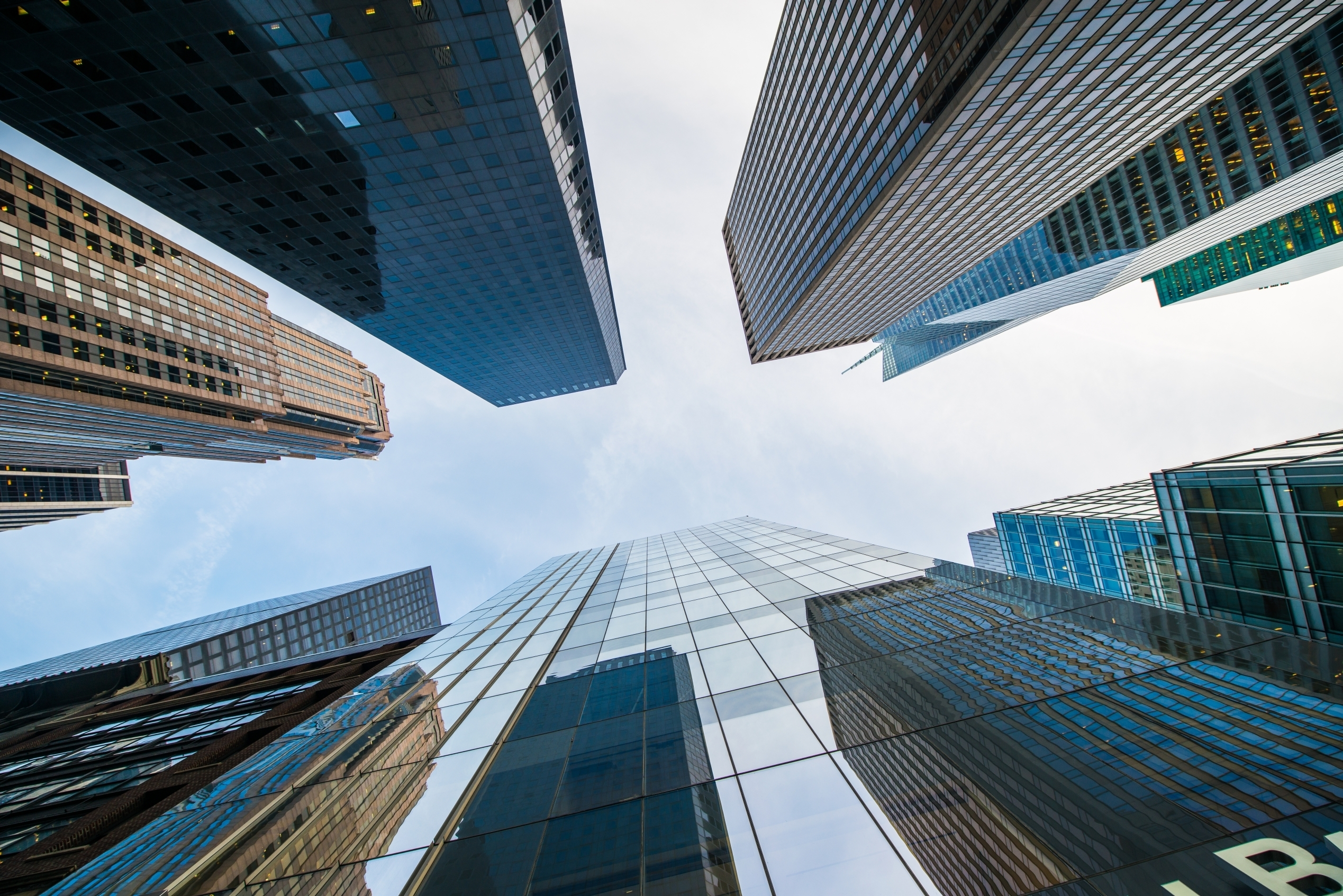 skyscrapers pictured from the bottom to top Elnur by Shutterstock
